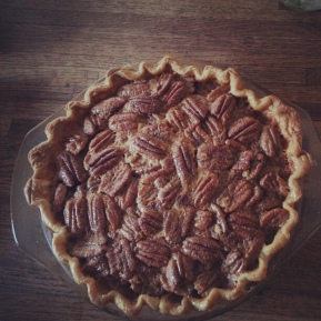 Plain Old Pecan Pie